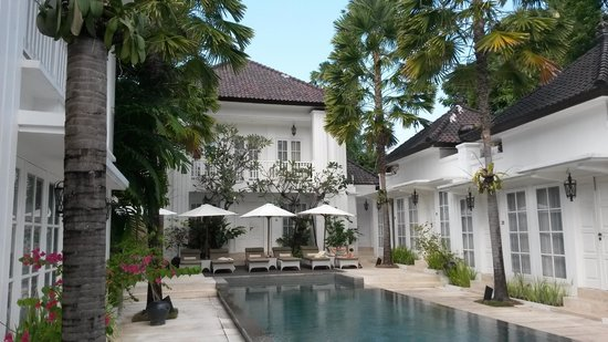 The Colony Hotel Bali: Pool view