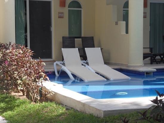 Sensimar Seaside Suites & Spa: i miss our swim-up