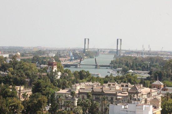 Torre Giralda: La Giralda Vista de Sevilla