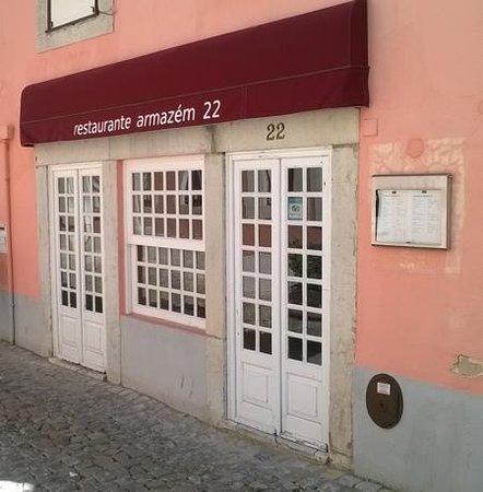 Armazem 22: front of restaurant