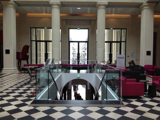 Radisson Blu Hotel, Nantes : Radisson Blu, Nantes lobby
