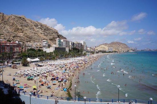 Melia Alicante: vue de la chambre