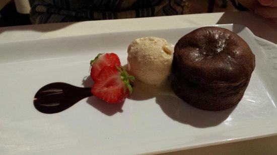 Hotel Cailler: Moelleux au chocolat