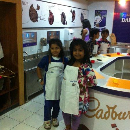 KidZania Mumbai: the chefs in making..