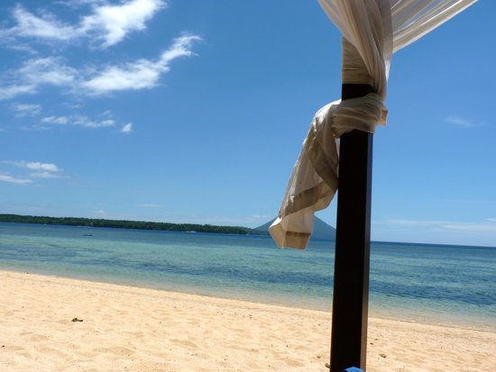Siladen Resort & Spa: la spiaggia