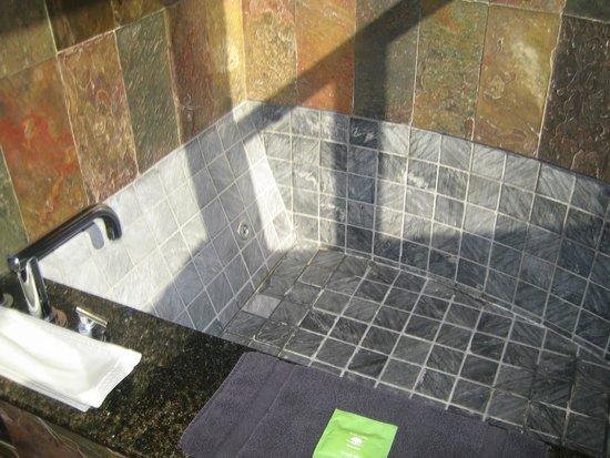 Post Ranch Inn: Fab slate bath
