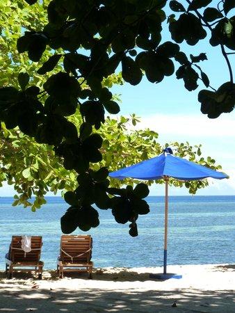 Siladen Resort & Spa: ombrelloni