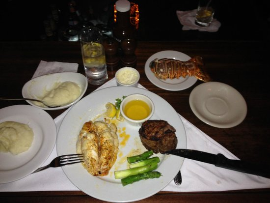 Benjamin Steakhouse: Surf and Turf Bomb Awesomeness
