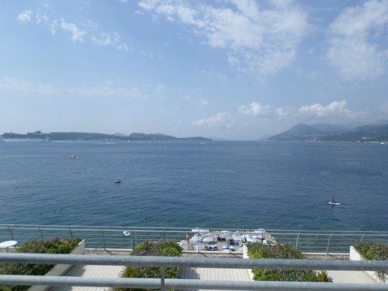 Valamar Dubrovnik President Hotel: Balcony view