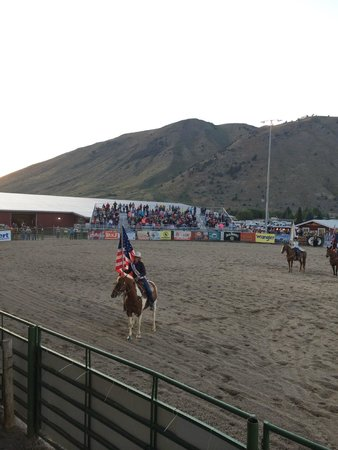 Jackson Hole Rodeo Grounds : Jackson Hole Rodeo - Opening