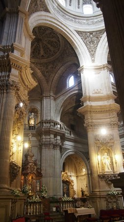Catedral de Granada: vue interieure cathedrale