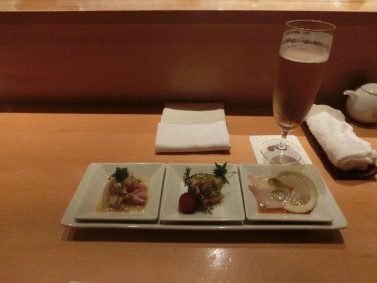 Nobu Tokyo: The yellowtail with jalapeño was wonderful!