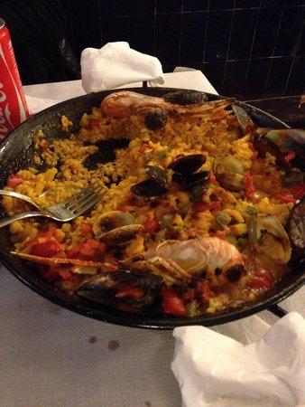 Restaurante La Palmera : Paella!!!!