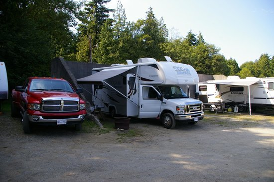 Ucluelet Campground: Happyholidays RV
