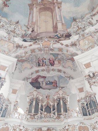 Wies Church: 天井
