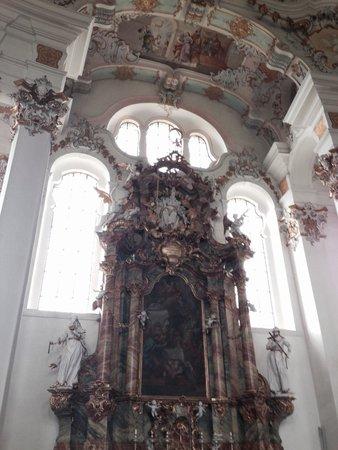Wies Church: 壁