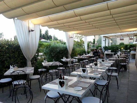 Ristorante Cortefreda: La terrazza del Chianti - Summer Terrace