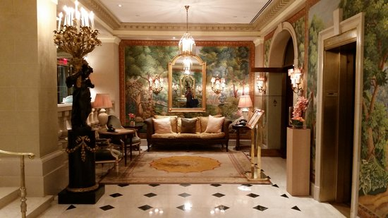 Hotel Plaza Athenee New York: Lobby