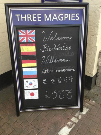 Three Magpies: Prices
