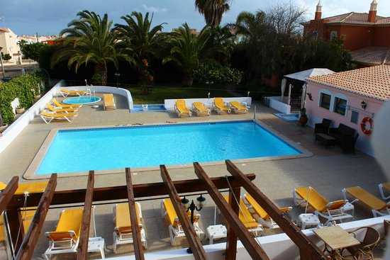 Solar de Mos Hotel: Overlooking the pool