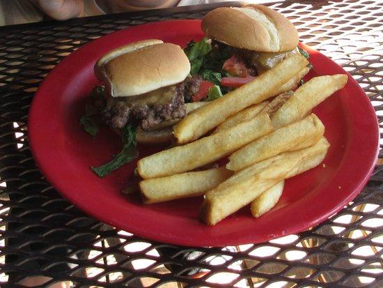 Taprock Northwest Grill : Bigfoot Sliders, Kids Menu