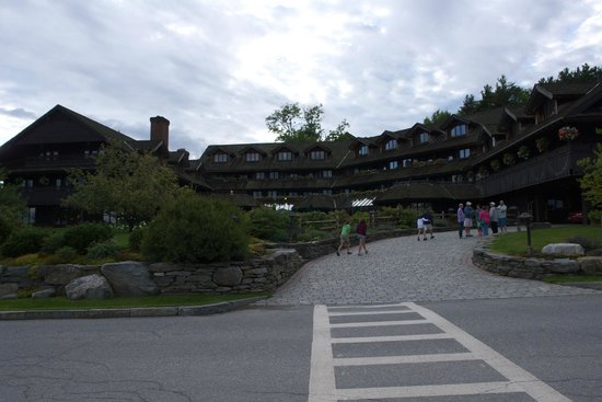 Trapp Family Lodge : ホテルの全景