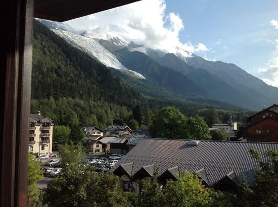 Maeva Residence Le Chamois Blanc: vue balcon