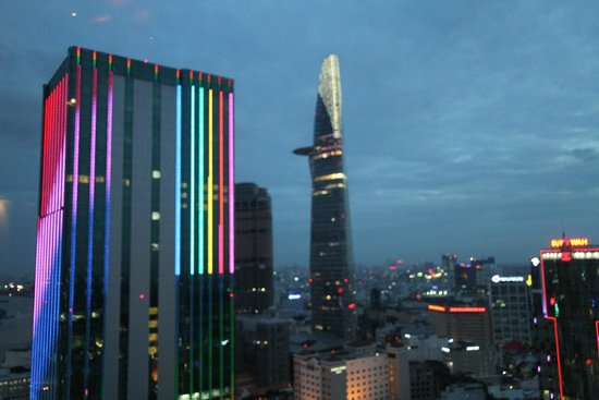 Sheraton Saigon Hotel & Towers: View from 23rd floor