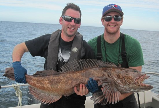 Langara Island Lodge: 48lb ling cod