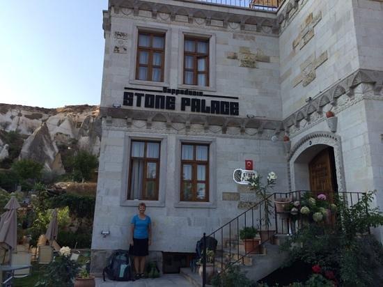 Cappadocia Stone Palace : Sadly, we had to leave our Cappadocia home.