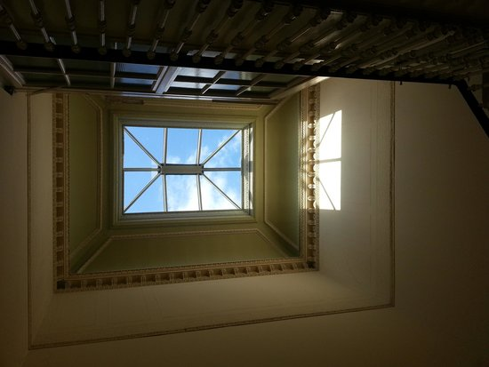 Ritz Edinburgh: One of the skylights