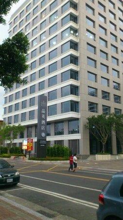 Silks Place Tainan: 停車場入口