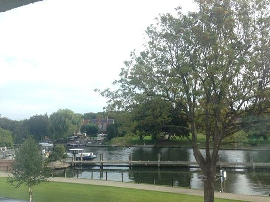 The Runnymede on Thames: view from our room 156