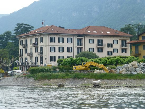Albergo Lenno: Hotel Lenno from Lake Como