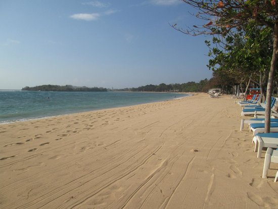 Nusa Dua Beach Hotel & Spa: OK pour la baignade !