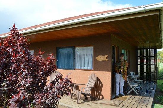 Marae Premium Cabins: Hermoso solcito