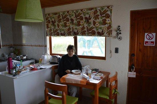 Marae Premium Cabins: Cocina cómoda
