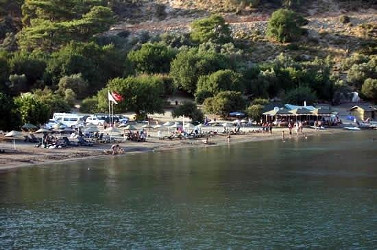 Dalaman, Turkey: Small beach