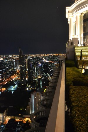 lebua at State Tower: View from Sky Bar