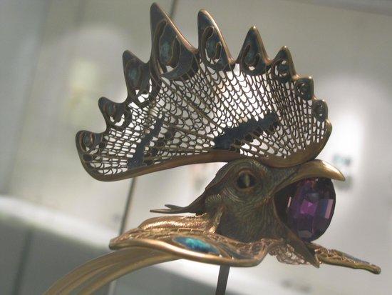 Museo Calouste Gulbenkian: the cockerel diadem