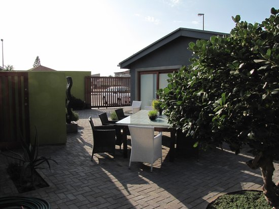 Organic Square Guesthouse: Blick aus dem Zimmer