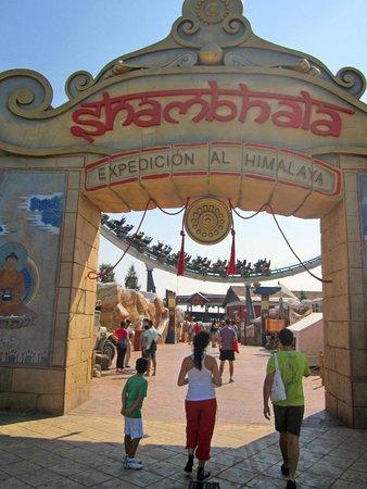 PortAventura Park: Shambala entrada principal