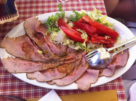 Roast beef alla Terrazza da Renza