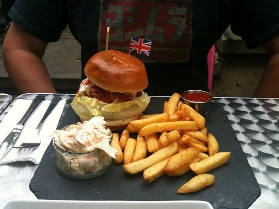​Byward Kitchen and Bar: the Beefeater Burger