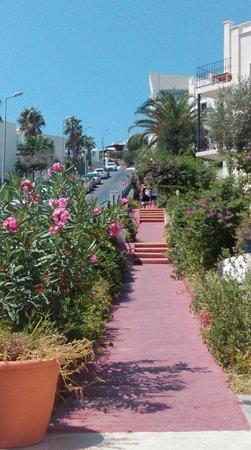 Rosso Verde Hotel: marches extérieures