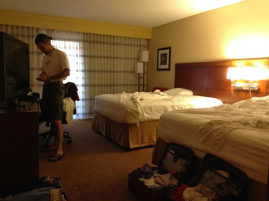Courtyard by Marriott Palm Springs: La nostra camera