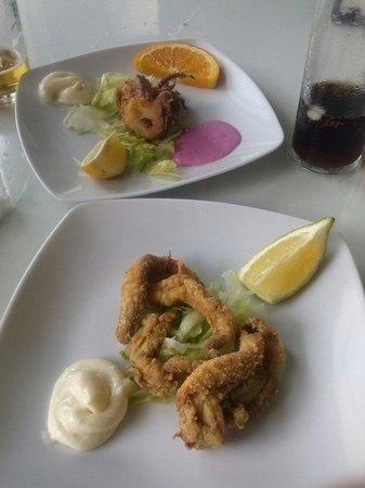 Restaurante tela marinera garrucha