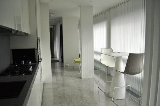 Black Pearl - Reykjavik Finest Apartments : kitchen area