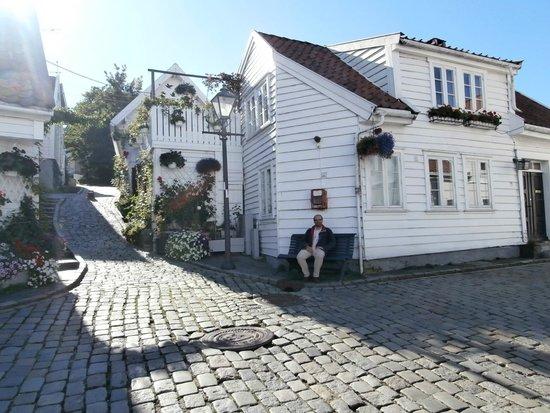 Old Stavanger: Nice houses
