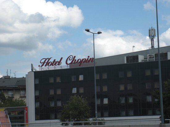 Vienna House Easy Chopin Cracow: Esterno dell'hotel Chopin